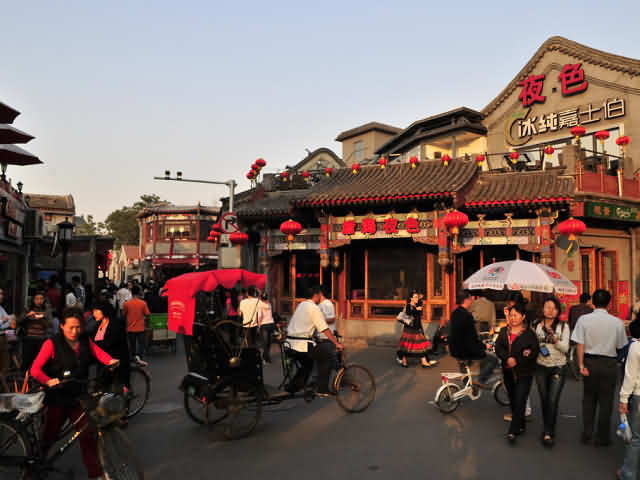 Top 5 most visited streets by travellers in Beijing, China_2