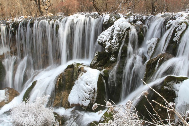 Visit The _Paradise On Earth_ Jiuzhaigou In Snowy Season_11