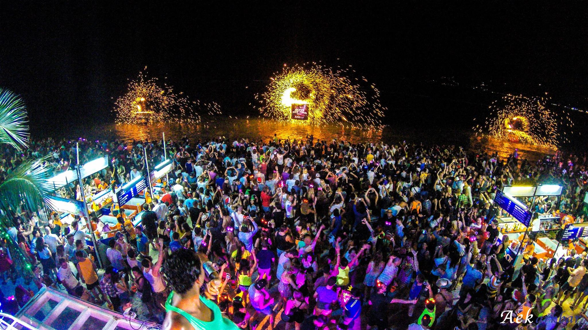 Full Moon Party Is A Notable Event For Tourists In Thailand
