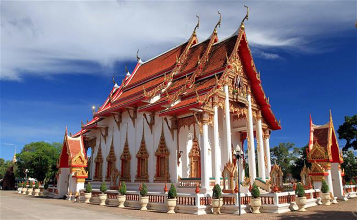 Image result for images of wat chalong temple