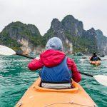 Kayaking in Halong Bay - Vietnam
