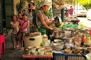 Thai street food Bangkok